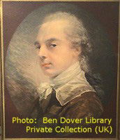 Lord Percy Ben Dover portrait