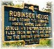 Robinson House marker